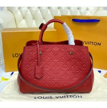 Louis Vuitton Monogram Empreinte Montaigne MM M41048-red