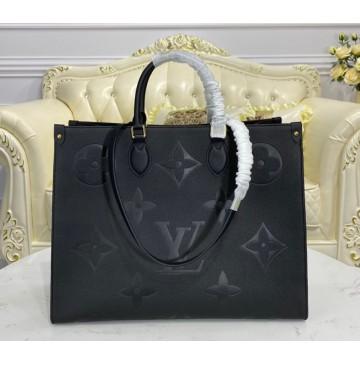 Louis Vuitton Monogram Empreinte Onthego GM M44925-black