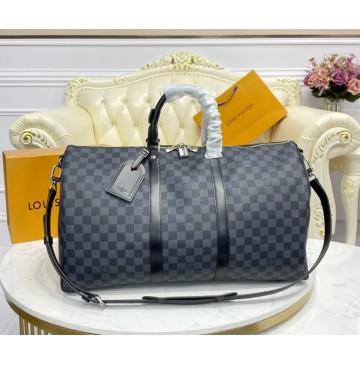 Louis Vuitton Damier Graphite Keepall 50 N41415
