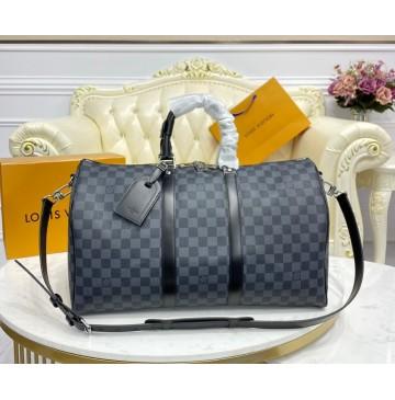 Louis Vuitton Damier Graphite Keepall 45 N41418