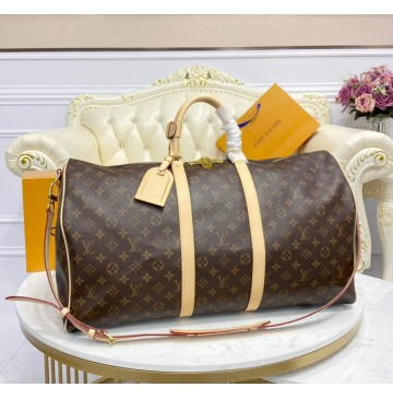 Louis Vuitton Monogram Canvas Keepall Bandouliere M41414