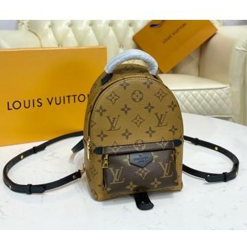 Louis Vuitton Monogram Reverse Mini Palm Springs Backpack M44872
