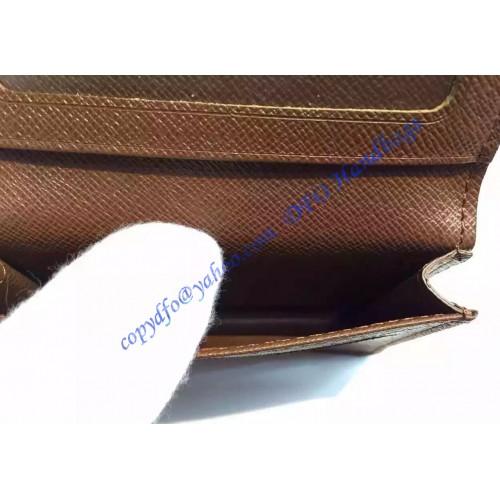 Louis vuitton monogram canvas business card holder m58117 luxtime louis vuitton monogram canvas business card holder m58117 colourmoves