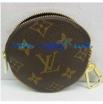 Louis Vuitton Monogram Round Coin Purse M61926