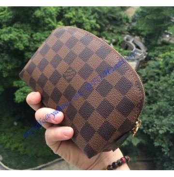Louis Vuitton Damier Ebene Cosmetic Pouch N47516