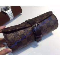 Louis Vuitton Damier Ebene 3 Watch Case