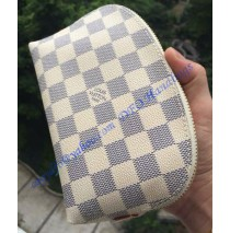 Louis Vuitton Damier Azur Canvas Cosmetic Pouch Travel N60024