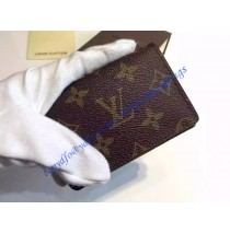 Louis Vuitton Monogram Canvas Business Card Holder M58117