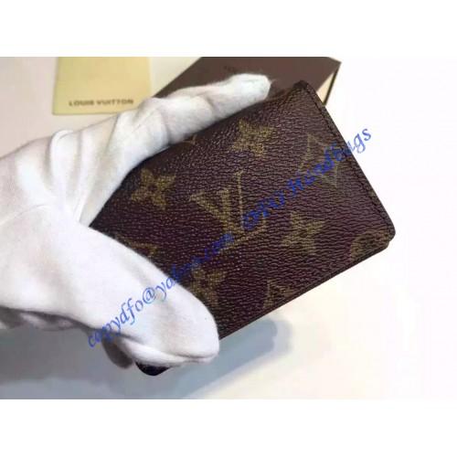 louis vuitton monogram canvas business card holder m58117 - Monogram Card Holder