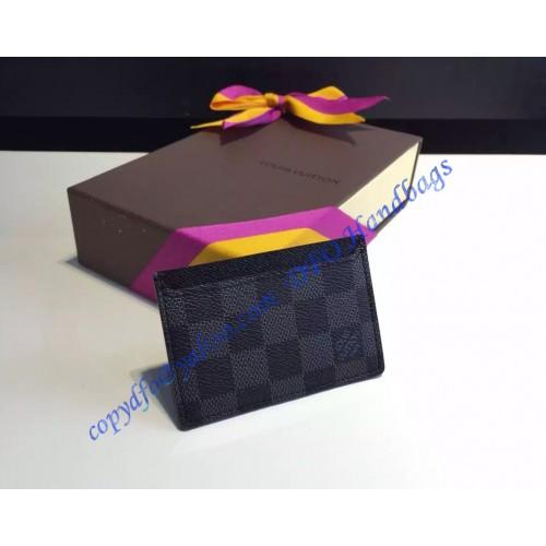 a652eeb5ca4e Louis Vuitton Damier Graphite Neo Porte Cartes N62666 – LuxTime DFO ...