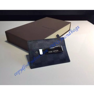 Louis Vuitton Damier Cobalt Card Holder N63217