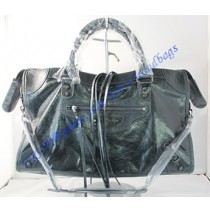 Balenciaga Large Le Dix B88008 black green