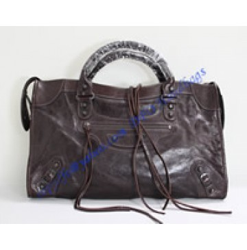 Balenciaga Large Le Dix B88008 coffee