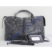 Balenciaga Large Le Dix B88008 dark gray
