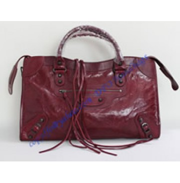 Balenciaga Large Le Dix B88008 dark red