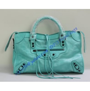 Balenciaga Large Le Dix B88008 lake green