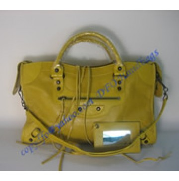 Balenciaga Large Le Dix B88008 lemon yellow