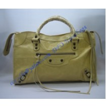 Balenciaga Large Le Dix B88008 light yellow