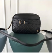 Chanel Large Buckle Camera Case Black