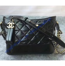 Chanel Gabrielle Small Hobo Bag Black