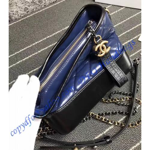 159ef12e88b Chanel Gabrielle Small Hobo Bag Blue Black – LuxTime DFO Handbags