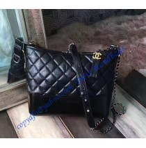Chanel Gabrielle Hobo Bag Black