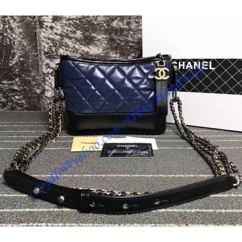 35351036c852 Chanel Gabrielle Small Hobo Bag Blue Black – LuxTime DFO Handbags