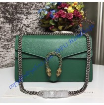 Gucci Dionysus Green Leather Medium Shoulder Bag