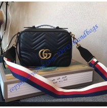 Gucci GG Marmont small Black shoulder bag