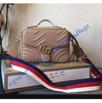 Gucci GG Marmont small Tan shoulder bag