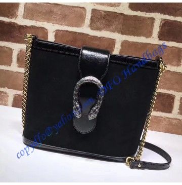 Gucci Dionysus medium bucket bag Black Suede
