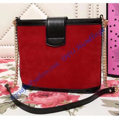 06f0a06dc59 Gucci Dionysus medium bucket bag Red Suede