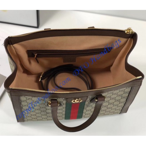 cd2e25f56fd Buy Gucci Ophidia Crossbody Bag GG Coated Canvas Mini Brown 3158601 – Rebag.  Gucci. Gucci small Ophidia GG shoulder ...
