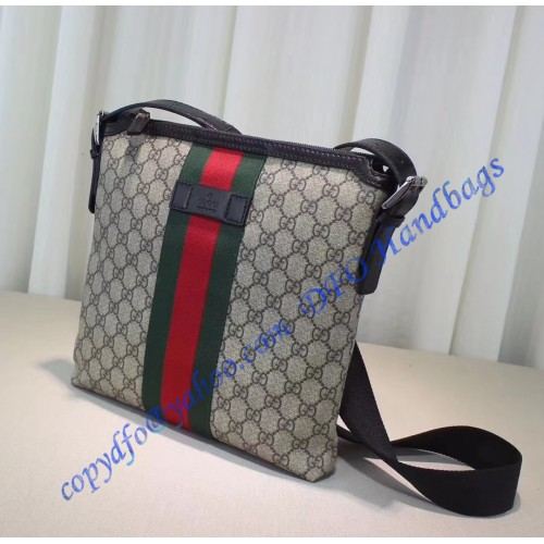 ac53a2994f77 Gucci Web GG Supreme messenger bag. Loading zoom