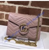 GG Marmont Pink matelasse mini bag