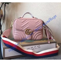 GG Marmont small Pink shoulder bag