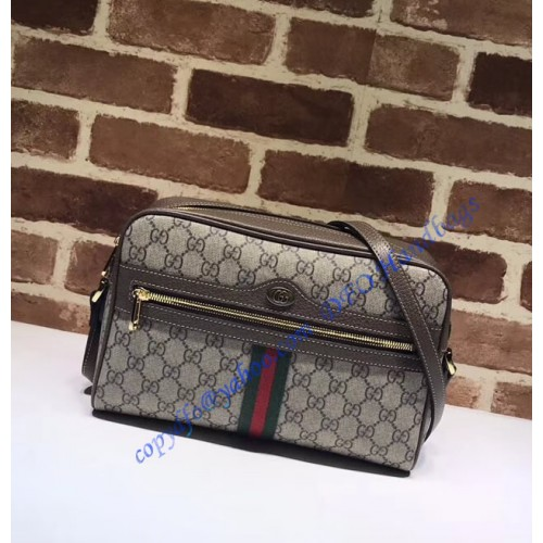 9a4948f92808 Gucci Ophidia GG Supreme small shoulder bag. Loading zoom