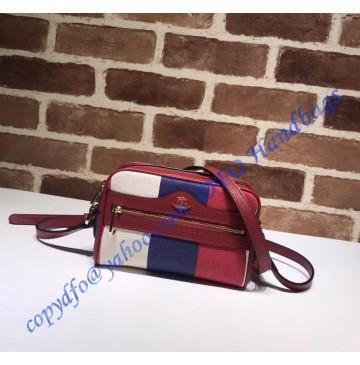 Gucci Ophidia Sylvie Stripe Canvas mini bag
