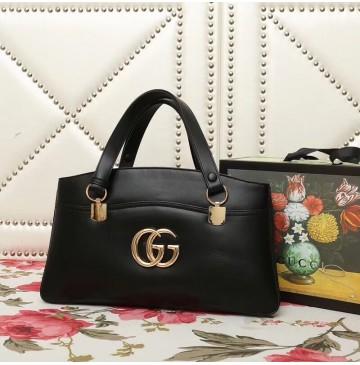 Gucci Arli large top handle bag Black