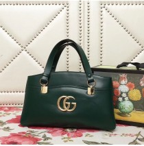 Gucci Arli large top handle bag Green