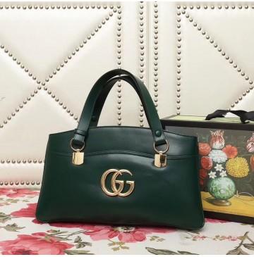 Gucci Arli large top handle bag Green