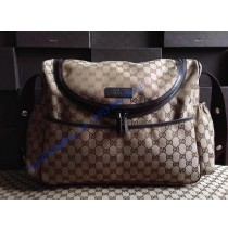 Gucci Messenger Diaper Bag GU123326C brown