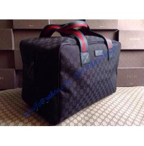 Gucci Original GG Canvas Carry-on Duffle GU153240C black