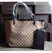 Gucci Craft Medium Tote GU247209C brown
