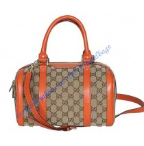 Gucci Vintage Web Boston GU269876C orange