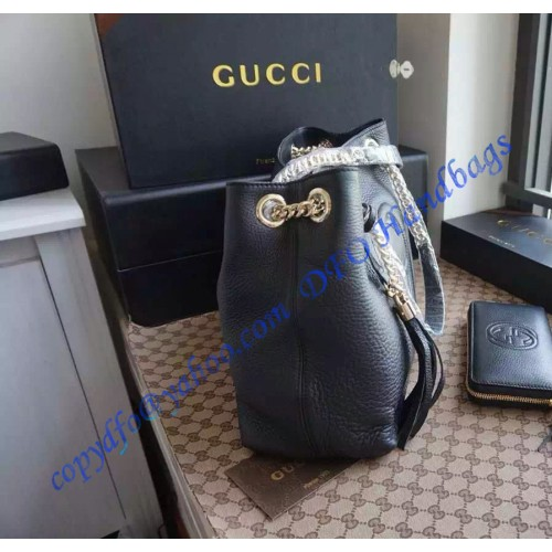 5aa36cc1d0e Gucci Soho Leather Shoulder Bag with Chain Straps – LuxTime DFO Handbags
