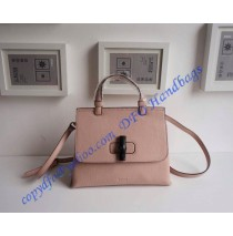 Gucci Bamboo Daily Leather Top Handle Bag Pink