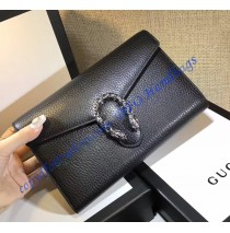 Gucci Dionysus Black Leather Mini Chain Bag