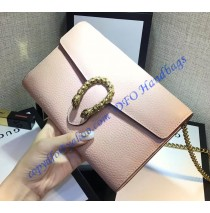 Dionysus light Pink Leather Mini Chain Bag
