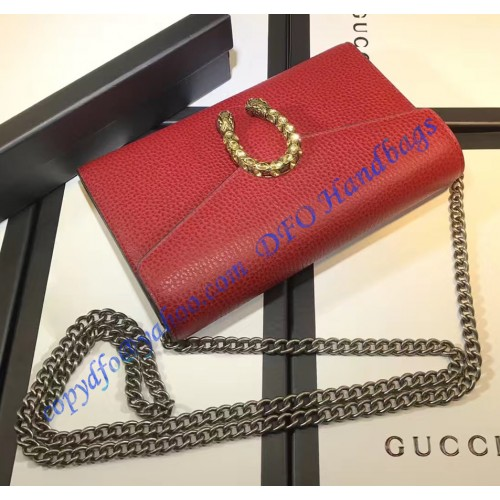 gucci dionysus red leather mini chain bag. Black Bedroom Furniture Sets. Home Design Ideas